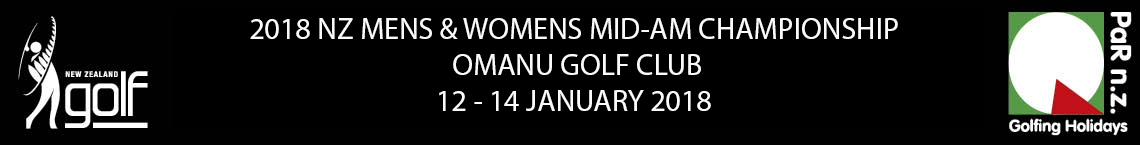 2018 NZ Mens and Womens Mid Am Championship